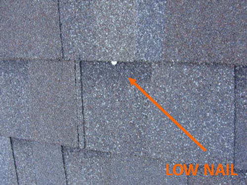 Over Or Under Driven Roofing Nails