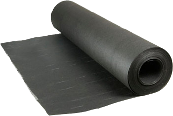 Black, Asphalt Saturated Felt Paper Is One Of The Most Common Types Of  Underlayment Used In Residential Roofing. Felt Underlayment Is  Water Resistant, ...